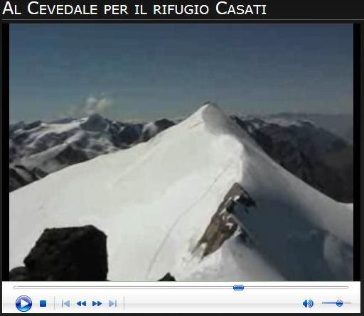 Video salita al Cevedale