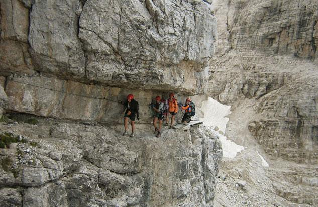 Dolomiti di Brenta - bocchette centrali