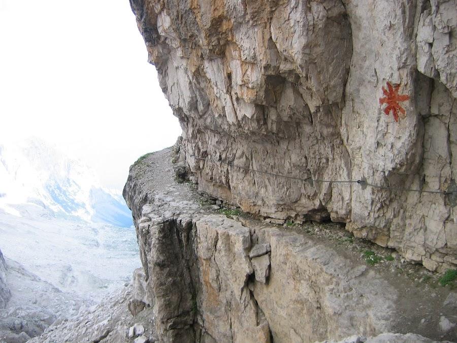 Dolomiti di Brenta - cengia