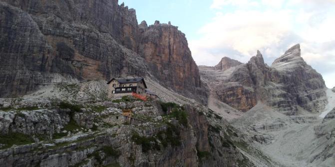 Dolomiti di Brenta - rifugio Tuckett
