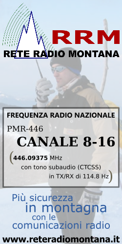 Rrm frequenza canali